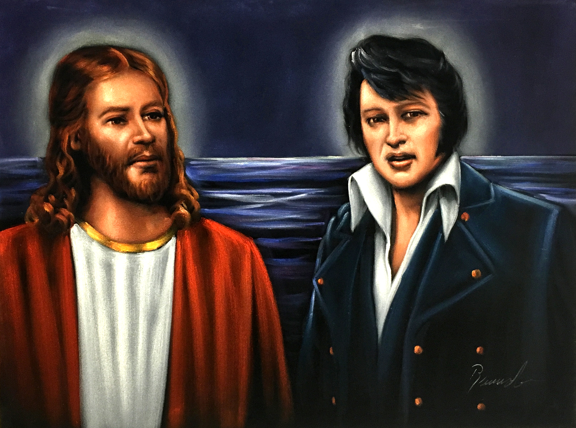 Velvet Elvis Amp Jesus In Heaven The Velvet Store Velvet